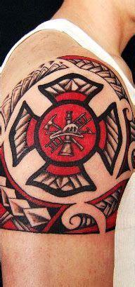 firefighter tattoos ideas  pinterest maltese