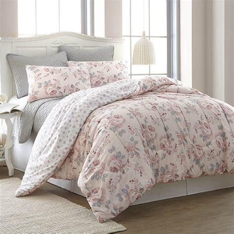 rosette queen six piece comforter set pacific coast