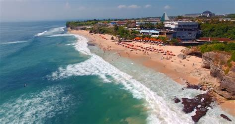 Dreamland Beach On Bali Stock Footage Video 17718742