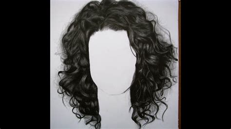 como dibujar cabello chinoquebrado   draw curly