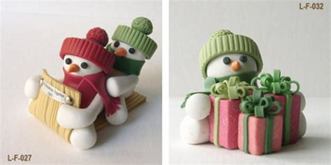handmade polymer clay christmas ornament crafts for