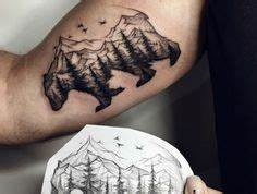 Tatouage Paysage Montagne : 1001 dessins originaux de tatouage montagne tatouages tattoos cool tattoos et leaf tattoos ~ Melissatoandfro.com Idées de Décoration