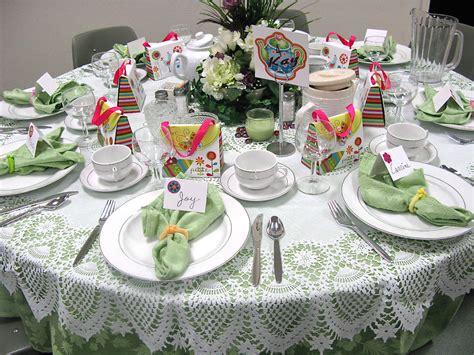 tea party table settings ideas table scraps tea scones and cowboy hats