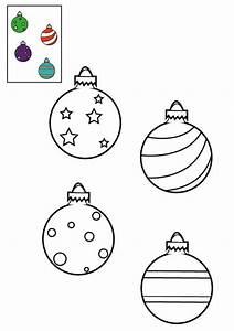 Le Sapin A Les Boules : coloriage les boules de no l accroch es au sapin imprimer pour les enfants ~ Preciouscoupons.com Idées de Décoration