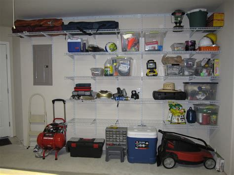 Organized Garages Attached Vs Detached & Finished Vs