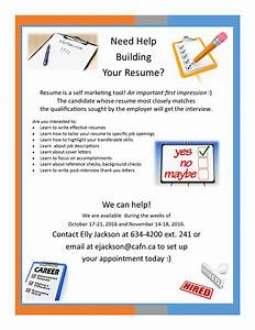 Need help building your resume book your appointment now for Resume poster