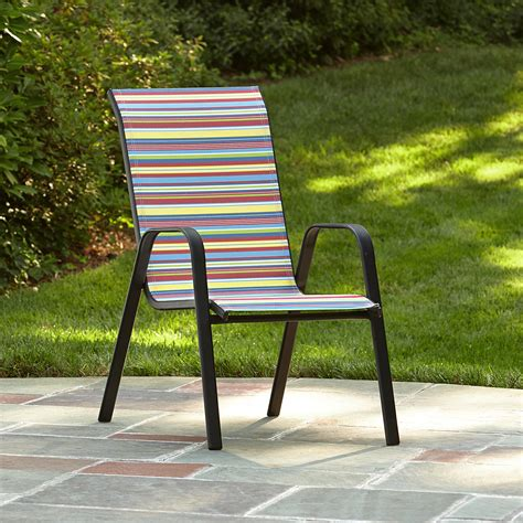 essential garden bartlett stripe stack chair limited