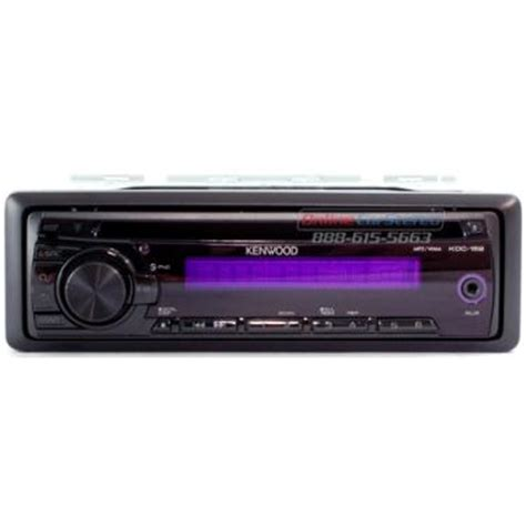kenwood kdc 152 single din in dash mp3 wma receiver with front aux input at onlinecarstereo com