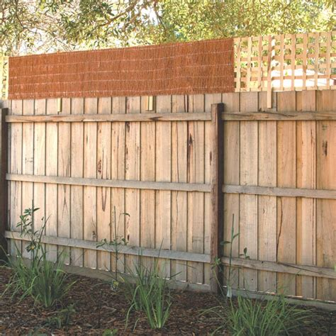 Trellis Fence Extension by Garden Trend 0 5 X 2 4m Brushwood Fence Extension