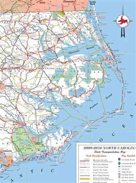 map  outer banks nc holiday map  holidaymapqcom