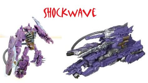 Cyberverse Shockwave With Fusion Tank