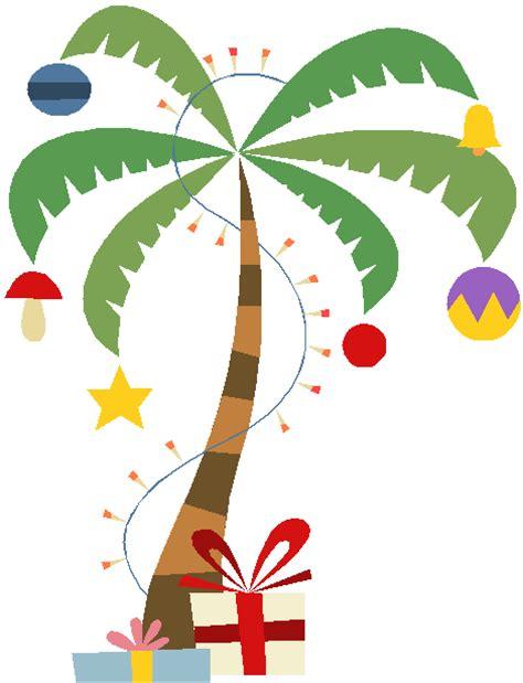 xmas palm tree clipart