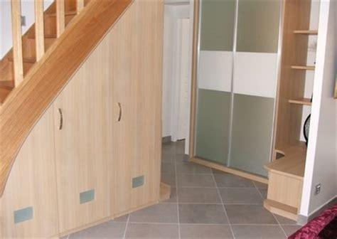 placard de bureau elegance rangement placard sous escalier
