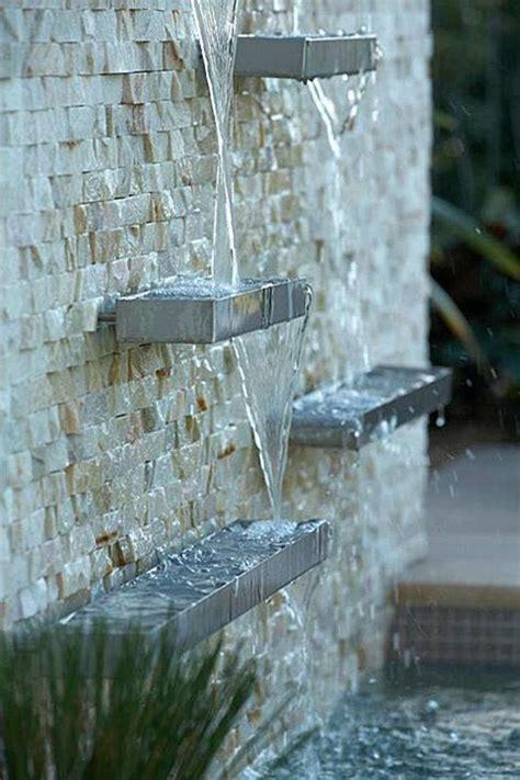 creer une fontaine exterieure la d 233 co ext 233 rieure avec une fontaine murale archzine fr