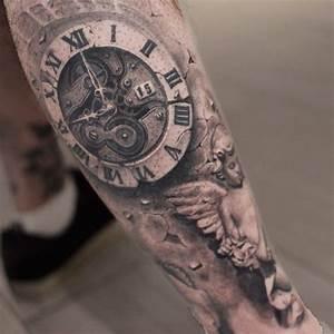 """Képtalálat a következőre: """"tatuagem relogio colorido ..."""
