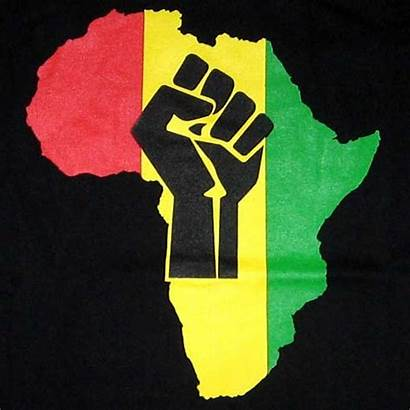 African Power Tattoo Roots Fist Flag Africa
