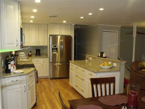 split foyer kitchen reno