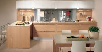 wooden furniture for kitchen light oak wooden kitchen designs digsdigs