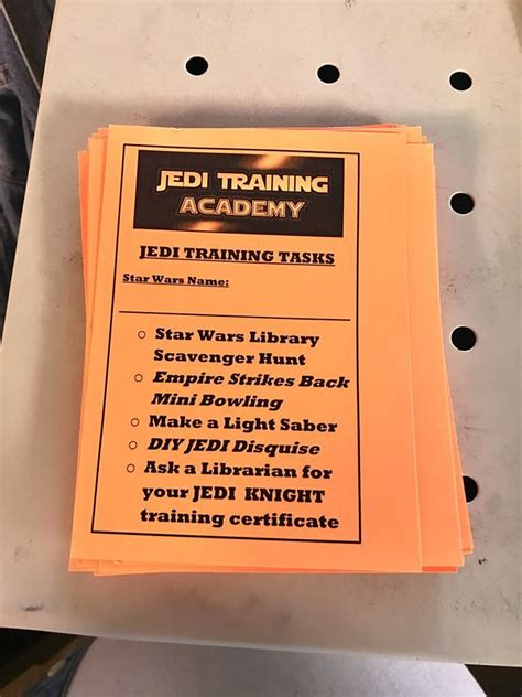 one little librarian: kids craft: may the 4th be with you ...