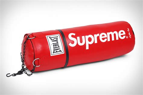 supreme stuff everlast x supreme heavy bag uncrate