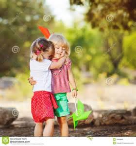 Cute Children Playing