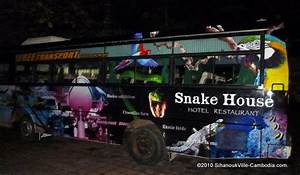 Snake House in Sihanoukville, Cambodia.
