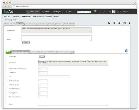 free service desk software itil sysaid workflow 28 images request form sysaid