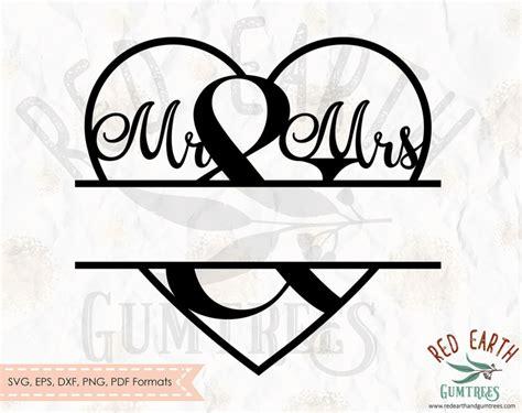 split monogram frame wedding decal    wedding   wedding decal