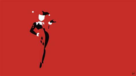 Batman Beyond Desktop Wallpaper Harley Quinn Minimalist Wallpaper By Greenmapple17 On Deviantart