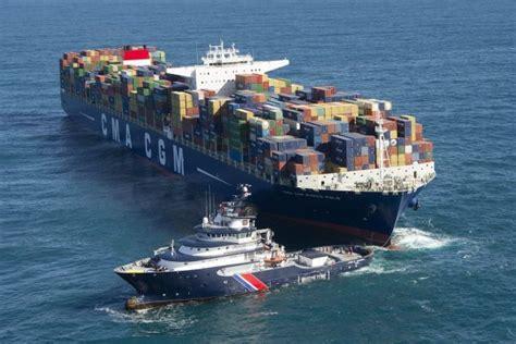 le t 233 l 233 gramme finist 232 re marco polo le plus gros porte conteneurs du monde remorqu 233 par l