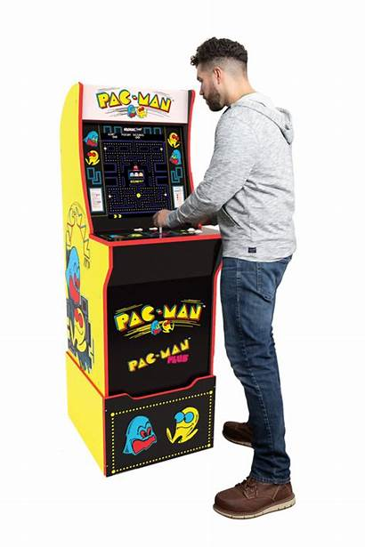 Arcade Pac Cabinet Arcade1up Pacman Arcades Kit