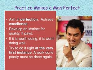 practice makes perfect essay