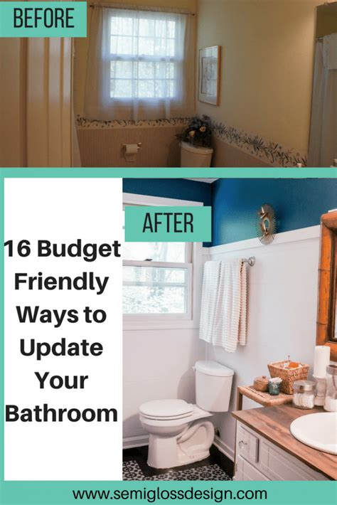 diy bathroom renovation ideas  wont break  bank