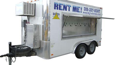 kegerators for sale 6 tap 30 keg refrigerated trailer rental iowa dispensers