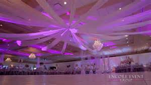 party lights rental ceiling wedding drapery gardens southgate mi
