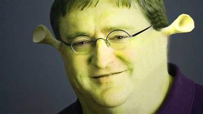 Dank Shrek Memes Gaben Meme Funny Face