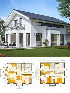 Haus Bauen Ideen Grundriss : einfamilienhaus neubau design modern mit satteldach ~ Orissabook.com Haus und Dekorationen
