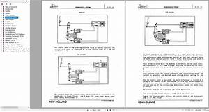 New Holland Tractor Combine Tx36 Tx66 Tx68 Service Manual