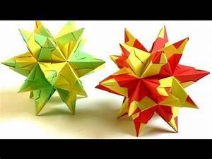 Papiersterne Basteln Anleitung : bascetta sterne falten origami sterne aus 30 modulen ~ Lizthompson.info Haus und Dekorationen