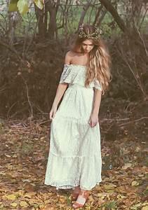 Robes De Mariée Bohème Chic : mariage boheme chic robe ~ Nature-et-papiers.com Idées de Décoration
