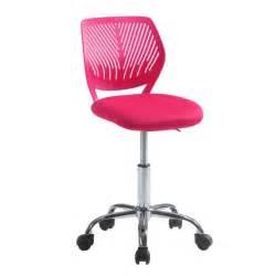 chaise bureau fushia le monde de l 233 a