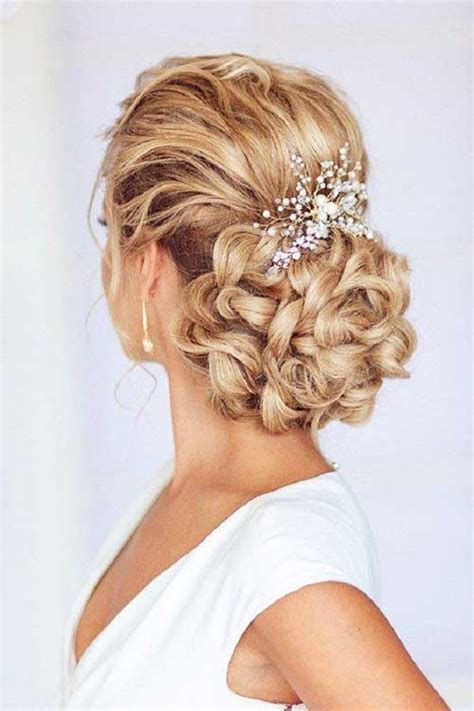 hair up styles images 25 bridal hairstyles for hair hairstyles 2017 8198