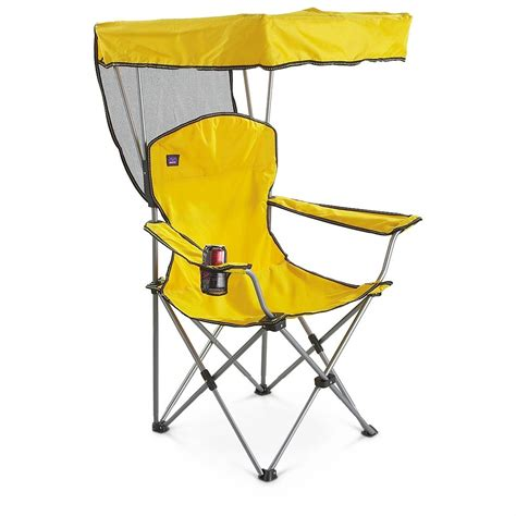 chair with canopy mac sports 174 canopy chair 205419 chairs at sportsman s guide