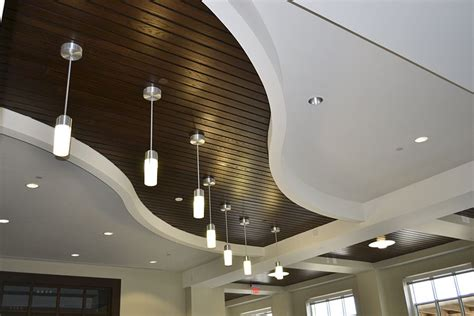 Modular Ceiling Design by Linwood Linear Wood Ceilings Architectural Surfaces