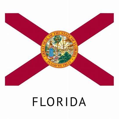 Florida Flag State Transparent Flags Vector Svg