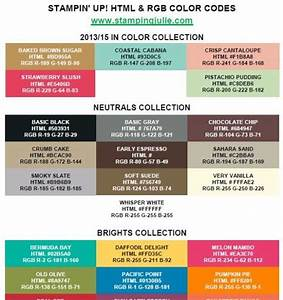 Html Farben Code : stampin 39 up html hex rgb codes new color collection chart craft ideas farben ~ Orissabook.com Haus und Dekorationen