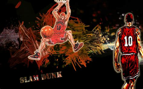 Slam Dunk Anime Wallpaper - slam dunk anime wallpapers wallpapersafari