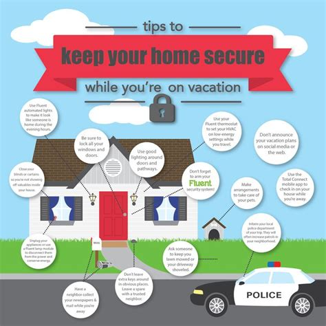 essential tips  home security   vacation