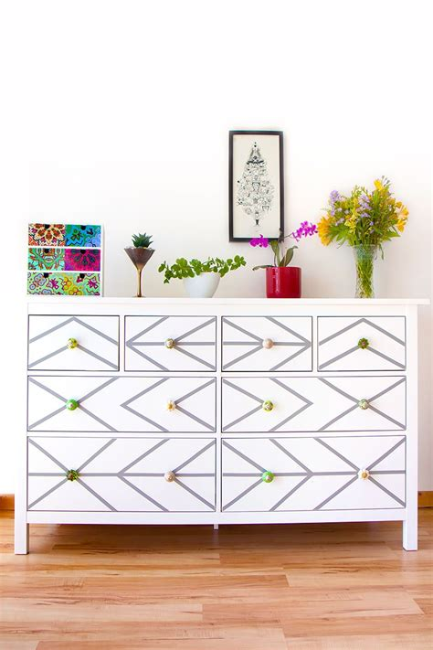 Kitchen Makeover Ideas - diy ikea dresser hack with contact paper