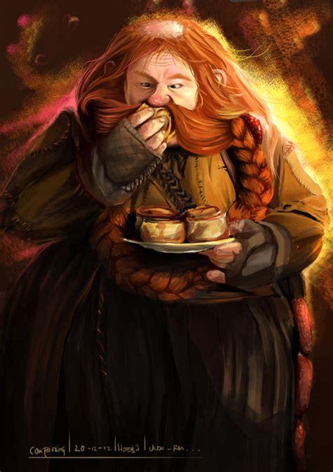 bombur the hobbit by unda rm on deviantart